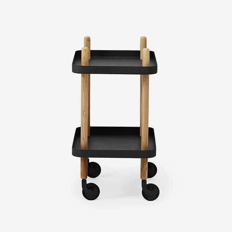 Block Side Table/Trolley
